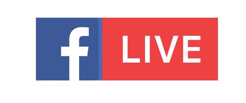 facebook live közvetítés