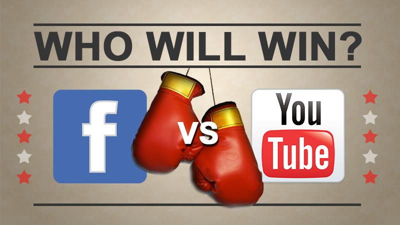 Streaming platformok versenye Facebook LIVE Youtube