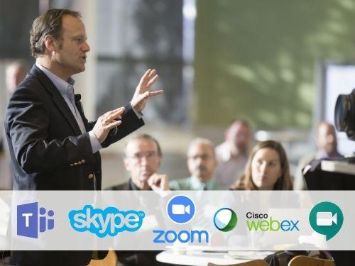 Streaming közvetítés céges MS Teams, WebEx, Zoom, Skype Business, Google Meet rendszerekbe
